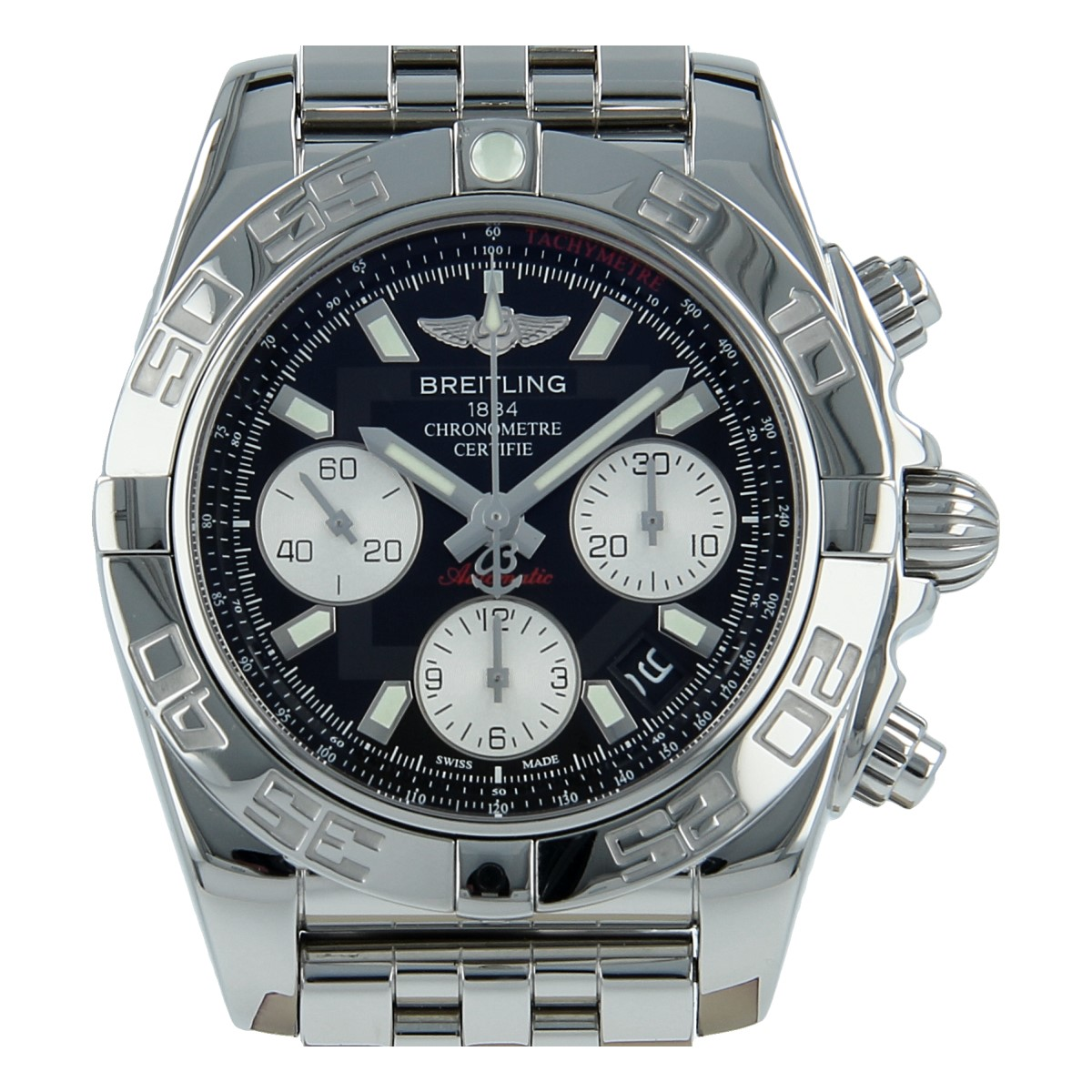 Second Hand Watches >> Breitling Chronomat 41 Steel