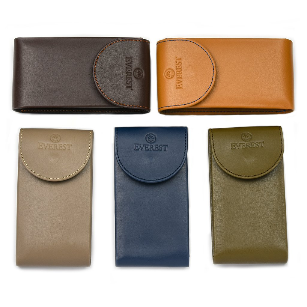 Everest Leather Luxury Watch Pouch