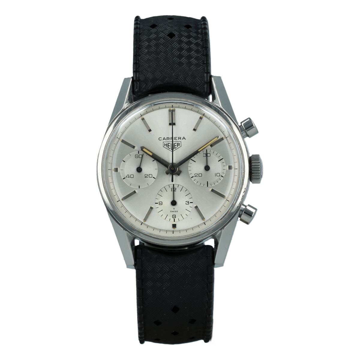 Heuer Carrera 2447S 1st Execution (1964/1965) | Buy pre-owned Heuer
