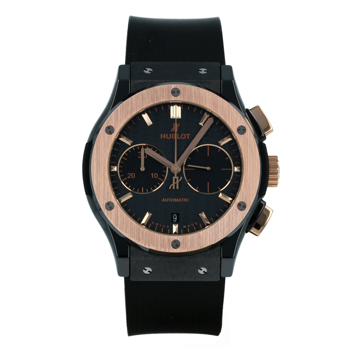 Hublot Classic Fusion 45mm Chronograph Rose Gold *New* | Buy pre-owned Hublot watch
