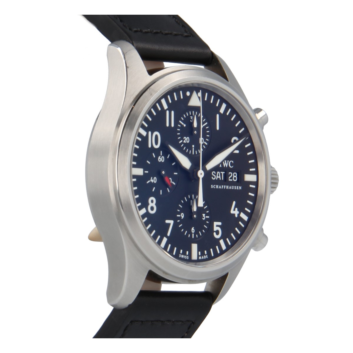 Iwc Pilot Chrono Quot Never Polished Quot Buy Iwc Schaffhausen Watch