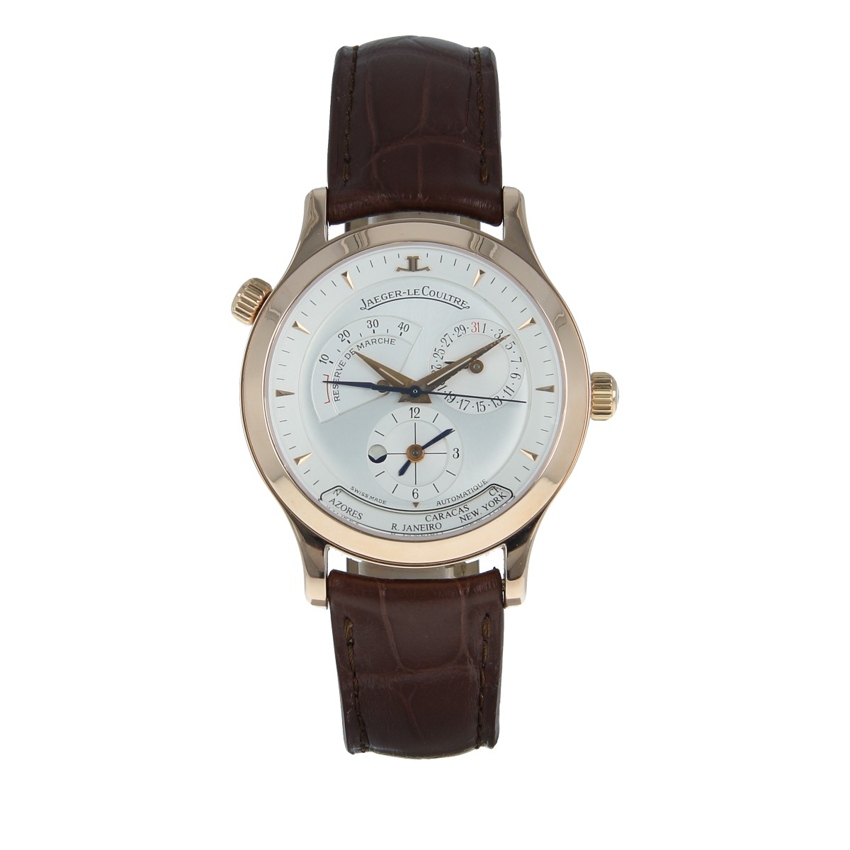 Jaeger-LeCoultre Master Geographic Rose Gold | Buy pre-owned Jaeger-LeCoultre watch