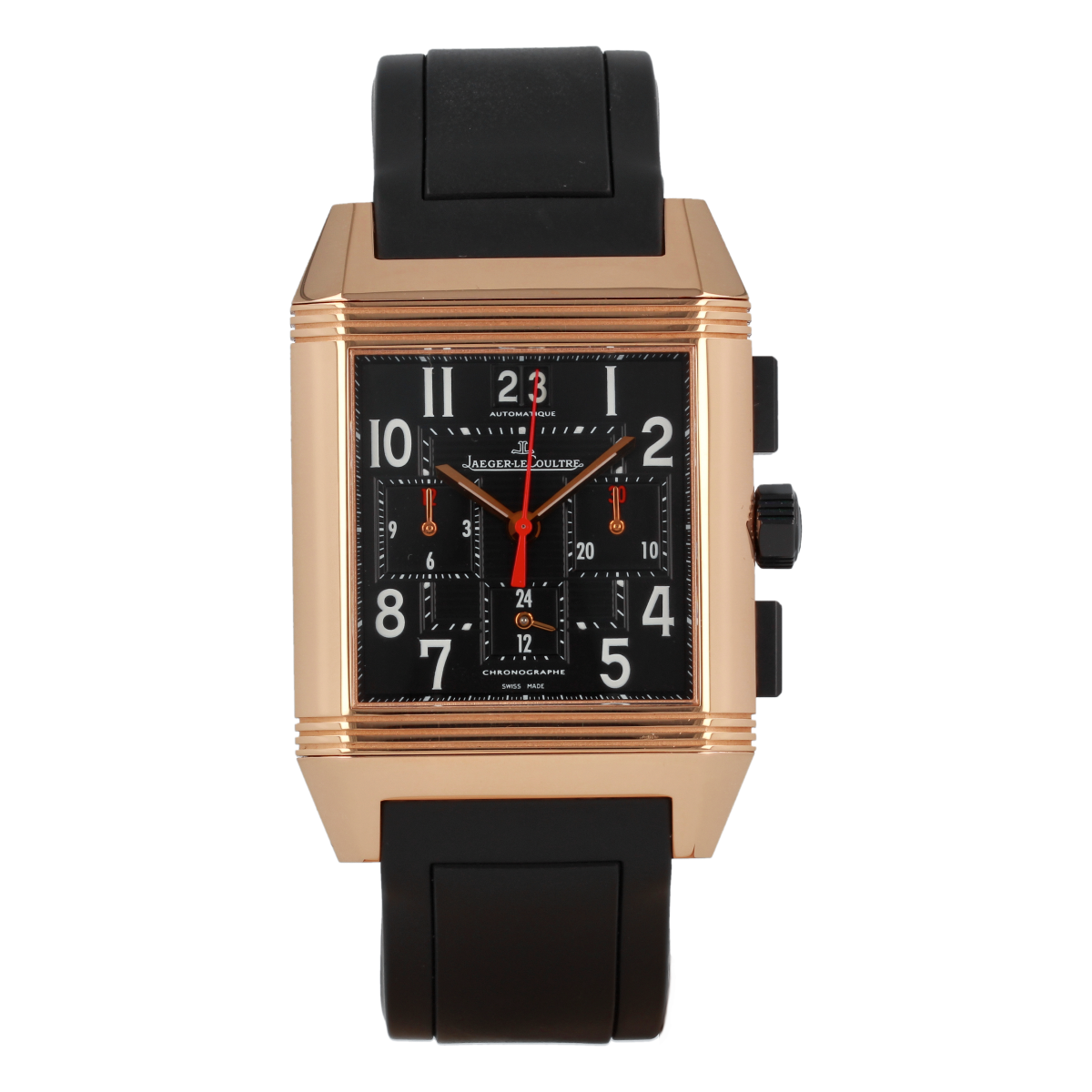 Jaeger-LeCoultre Reverso Squadra Chronograph GMT Rose Gold *Ltd. Ed.* | Buy pre-owned Jaeger-LeCoultre watch