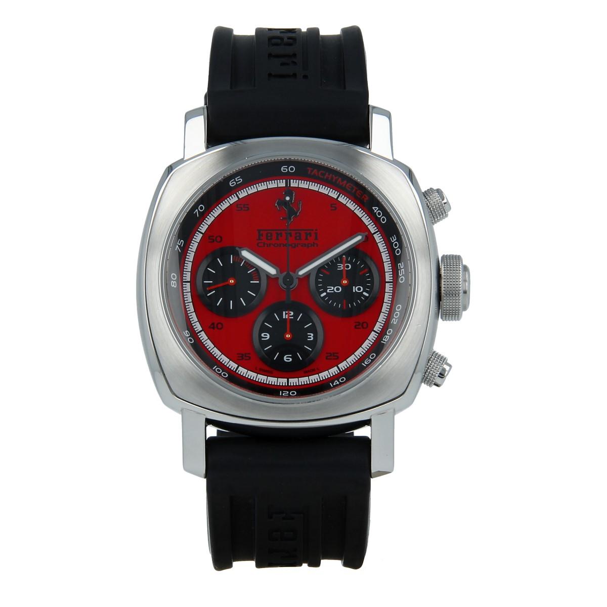 Panerai Ferrari Granturismo Chronograph Red Buy Pre Owned Panerai Watch
