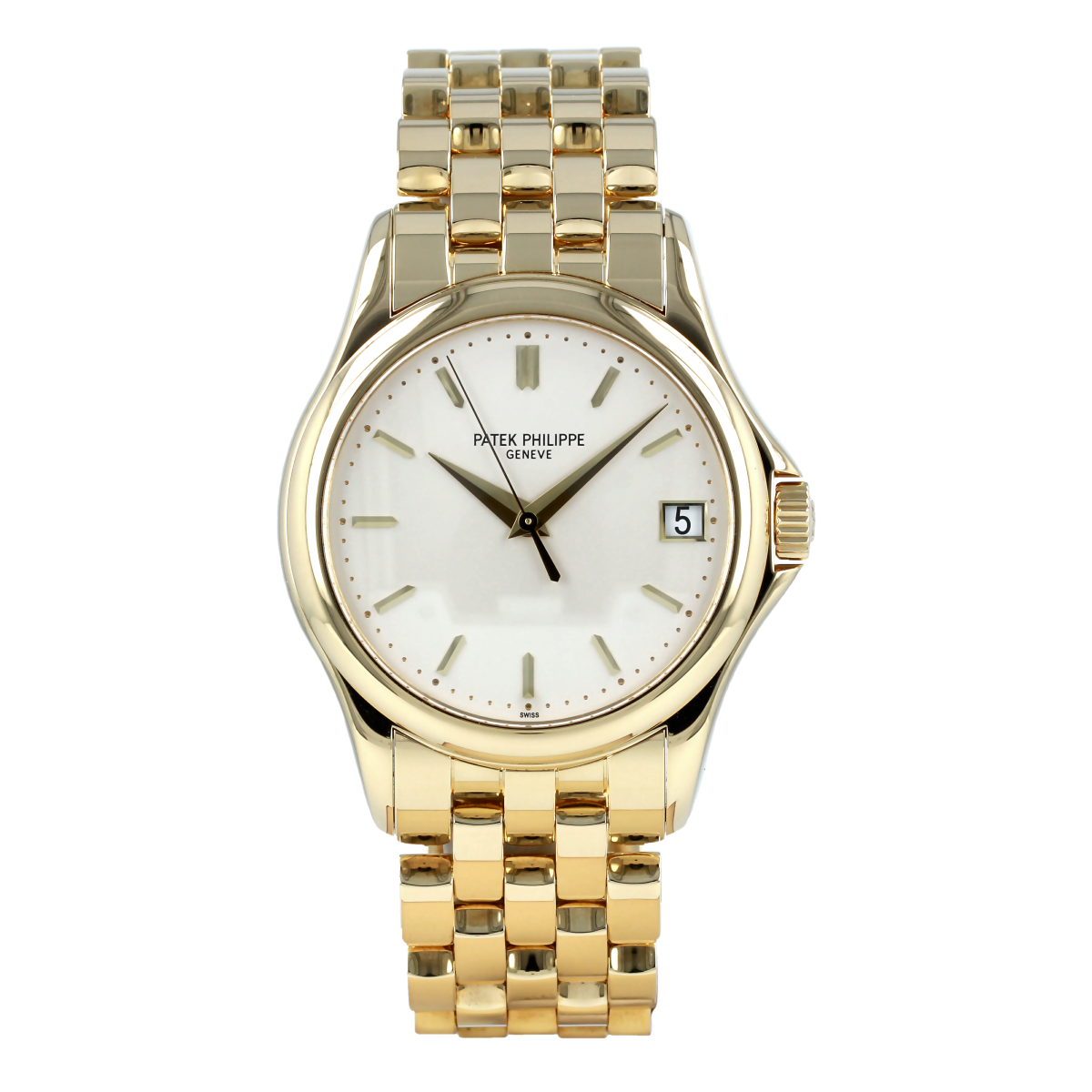 Patek Philippe Calatrava 5127/1J Yellow Gold *Full Set* | Buy pre-owned Patek Philippe watch