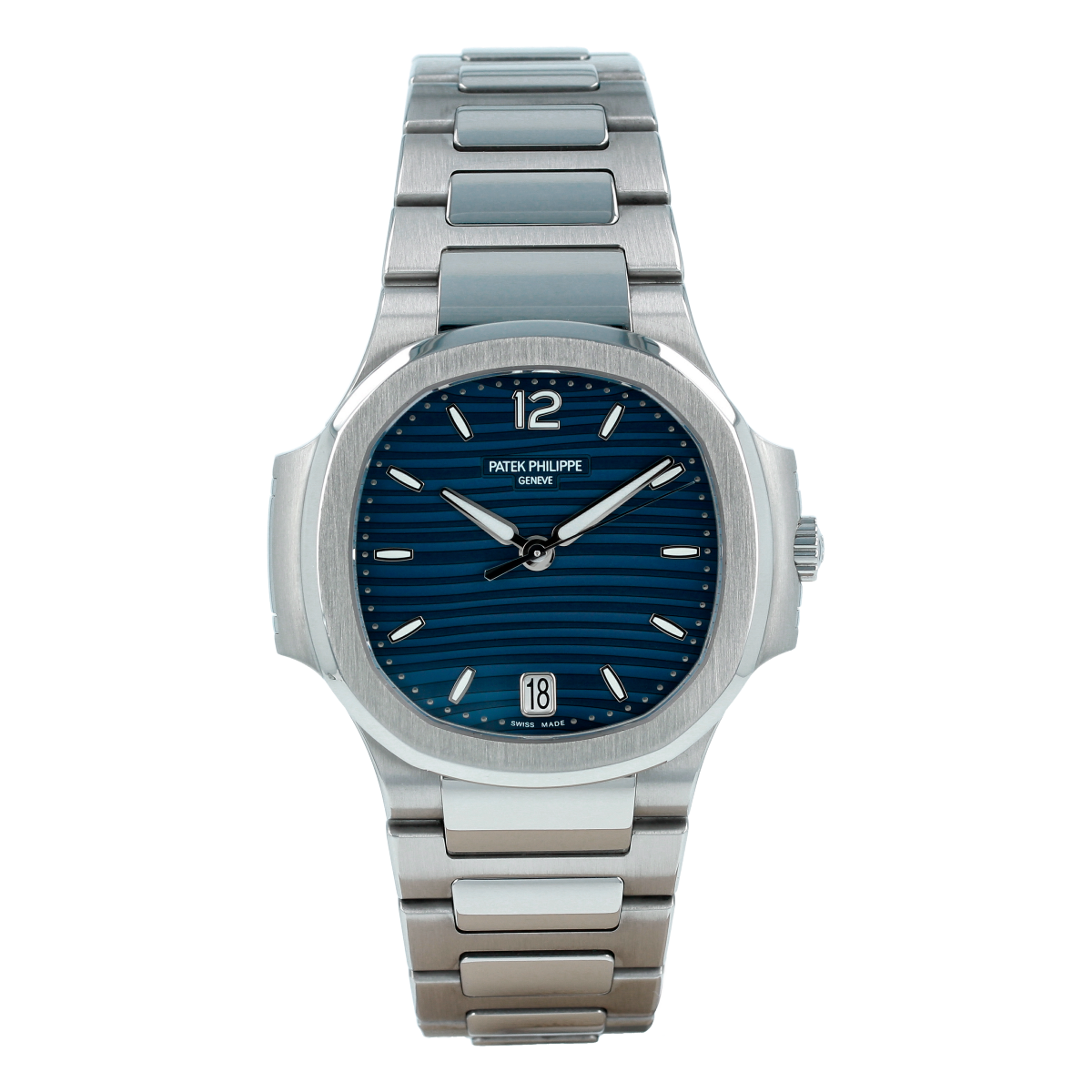 Patek Philippe Ladies' Nautilus 7118 Blue Dial | Buy pre-owned Patek Philippe watch