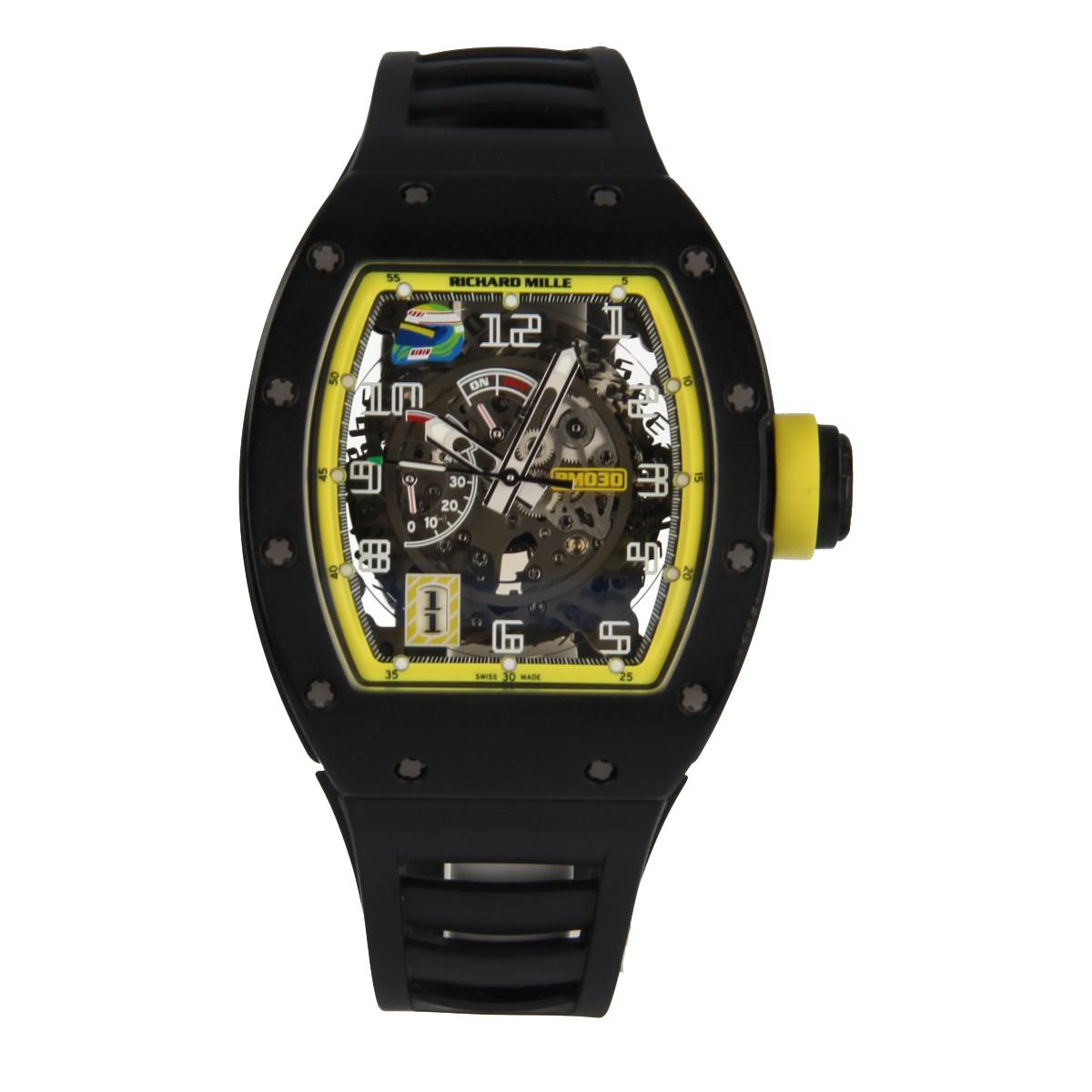 Richard Mille Rm 030 Grand Prix Brazil Limited Edition 30 Pcs | Buy pre-owned Richard Mille watch