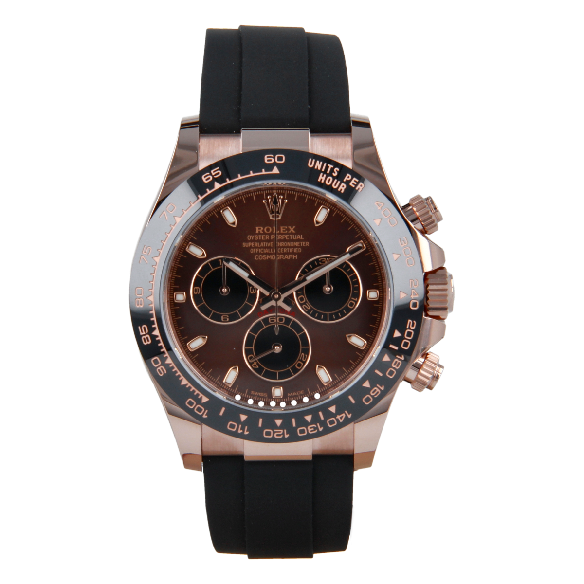 Rolex Cosmograph Daytona 116515LN Everose Gold Chocolate Dial *Brand-New* | Buy pre-owned Rolex watch