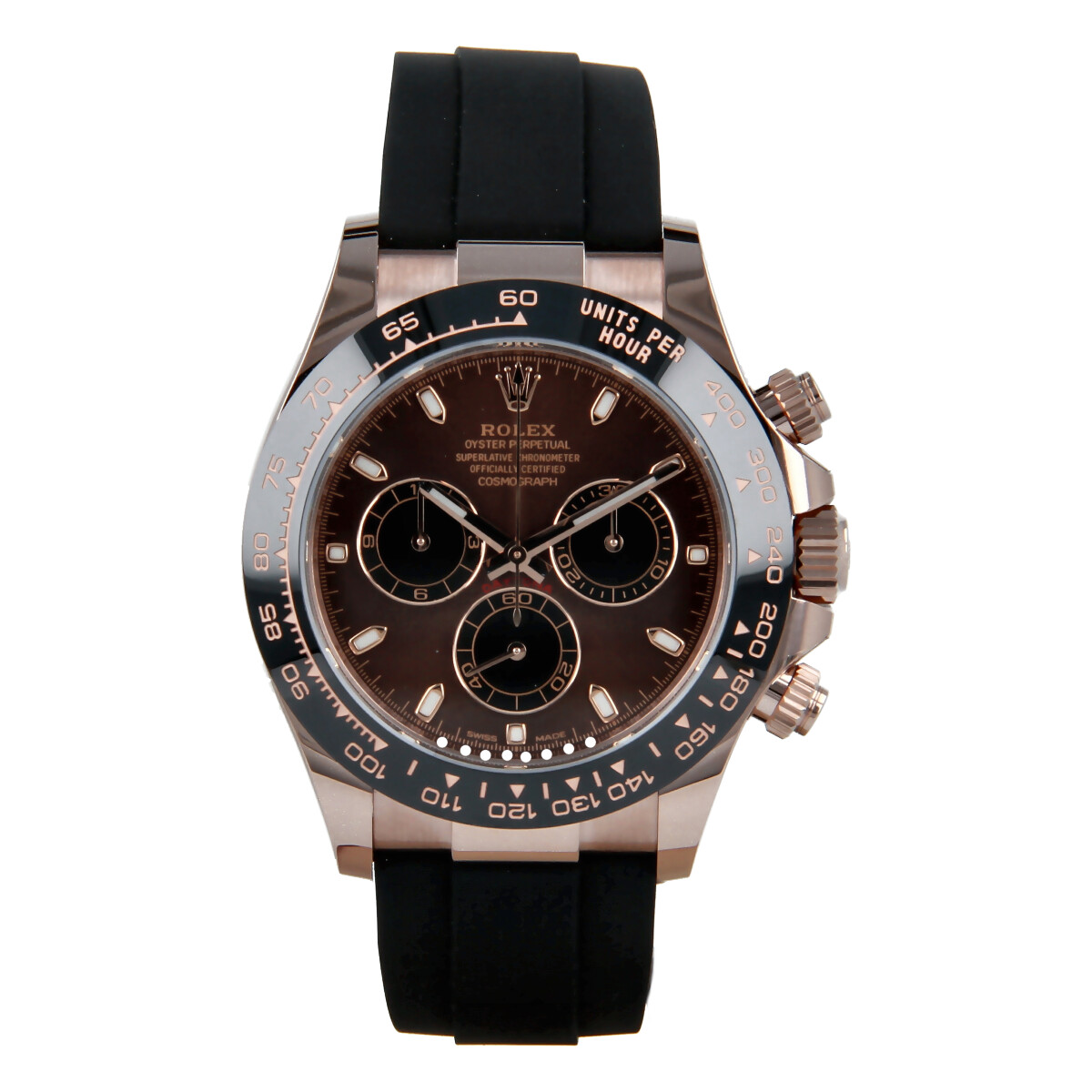 Rolex Cosmograph Daytona 116515LN Rose Gold Chocolate Dial *New* | Buy pre-owned Rolex watch