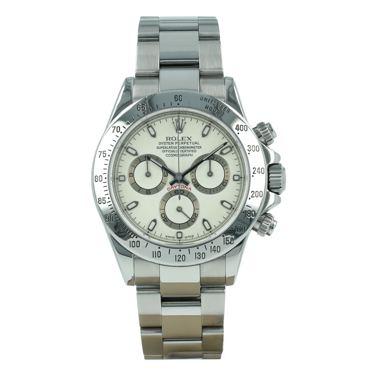 "Rolex Cosmograph Daytona 116520 ""Cream Dial (2001) 