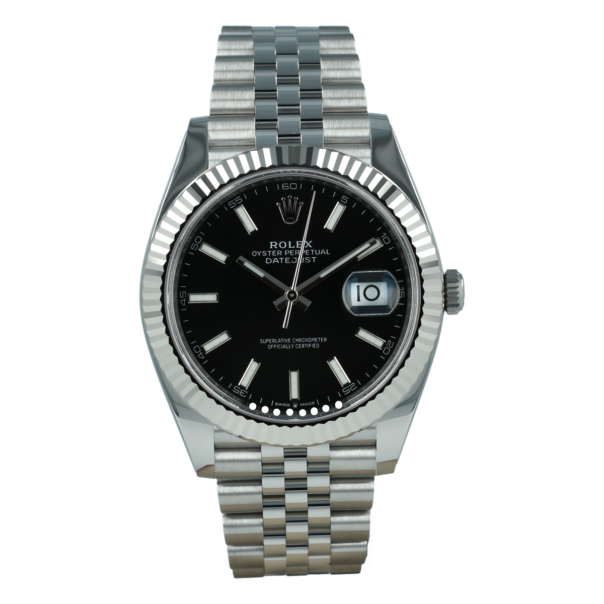 Rolex Datejust 126334 41mm Black Dial *Brand-New* | Buy pre-owned Rolex watch