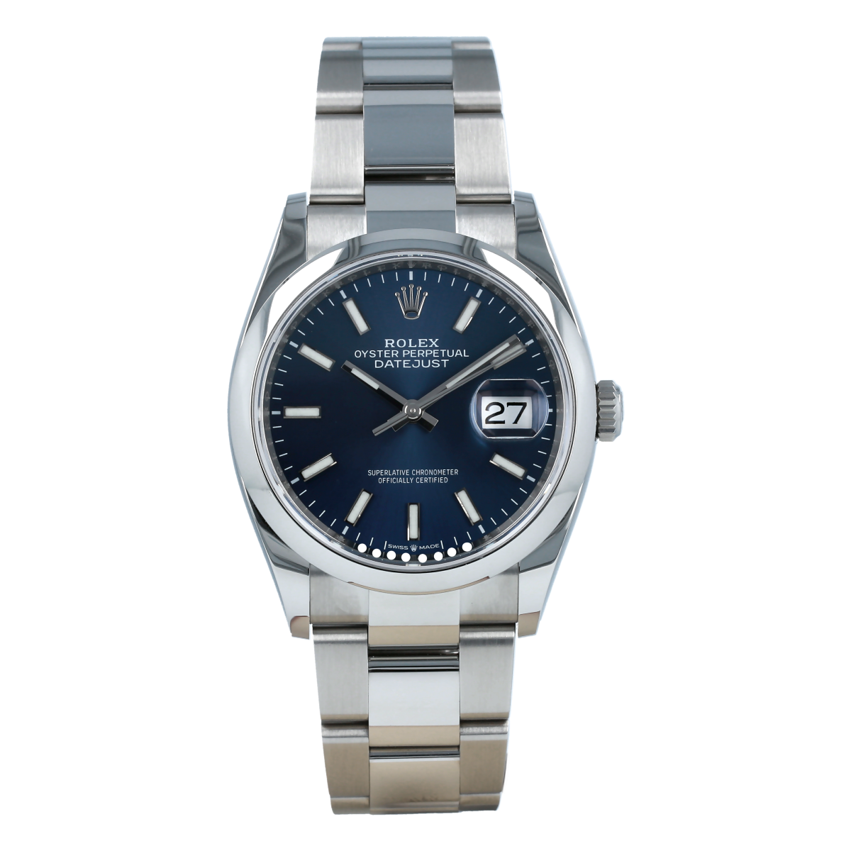 Rolex Datejust 36mm 126200 Blue Dial *Brand-New* | Buy pre-owned Rolex watch