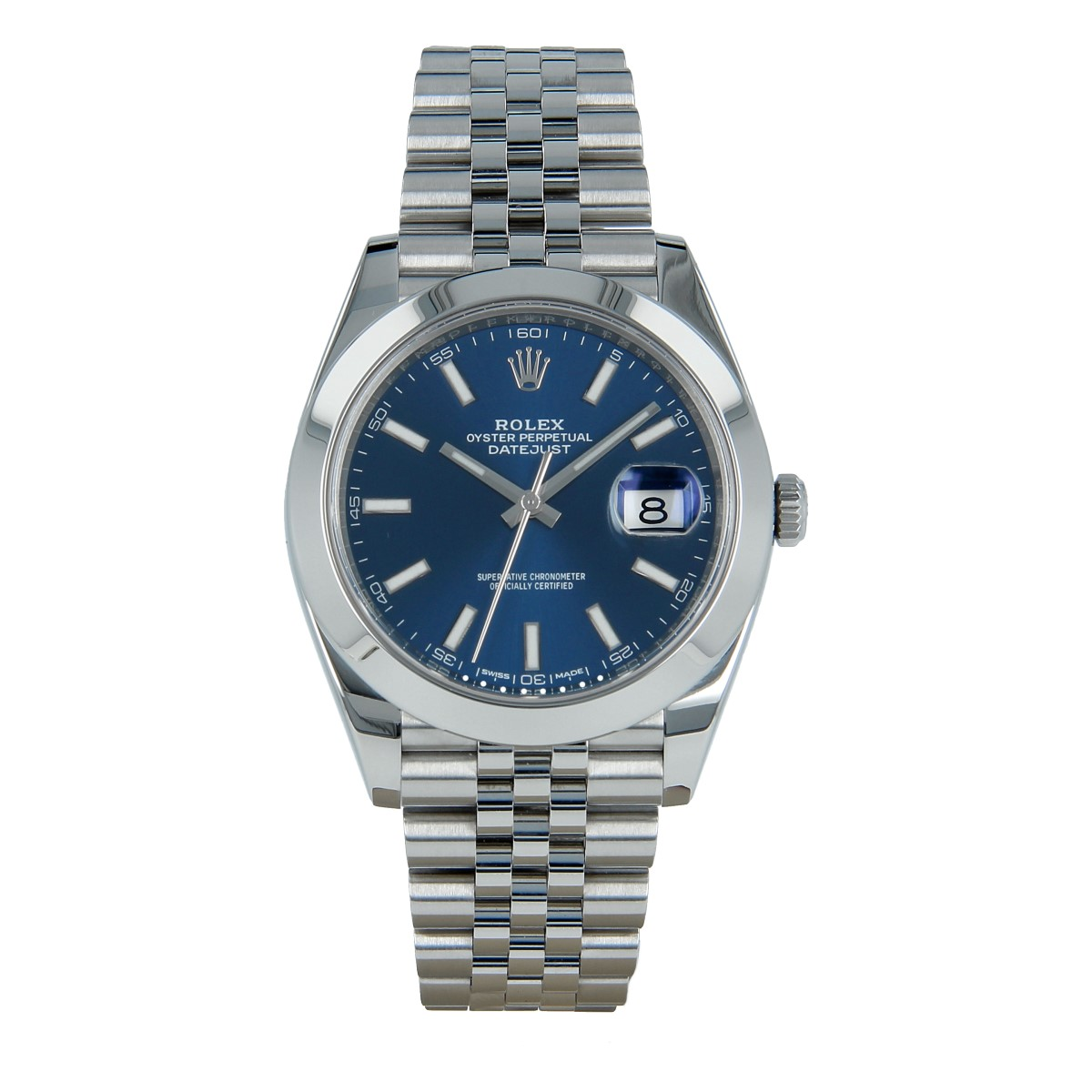 Rolex Datejust 41 mm 126300 Blue Dial | Buy second-hand Rolex watch