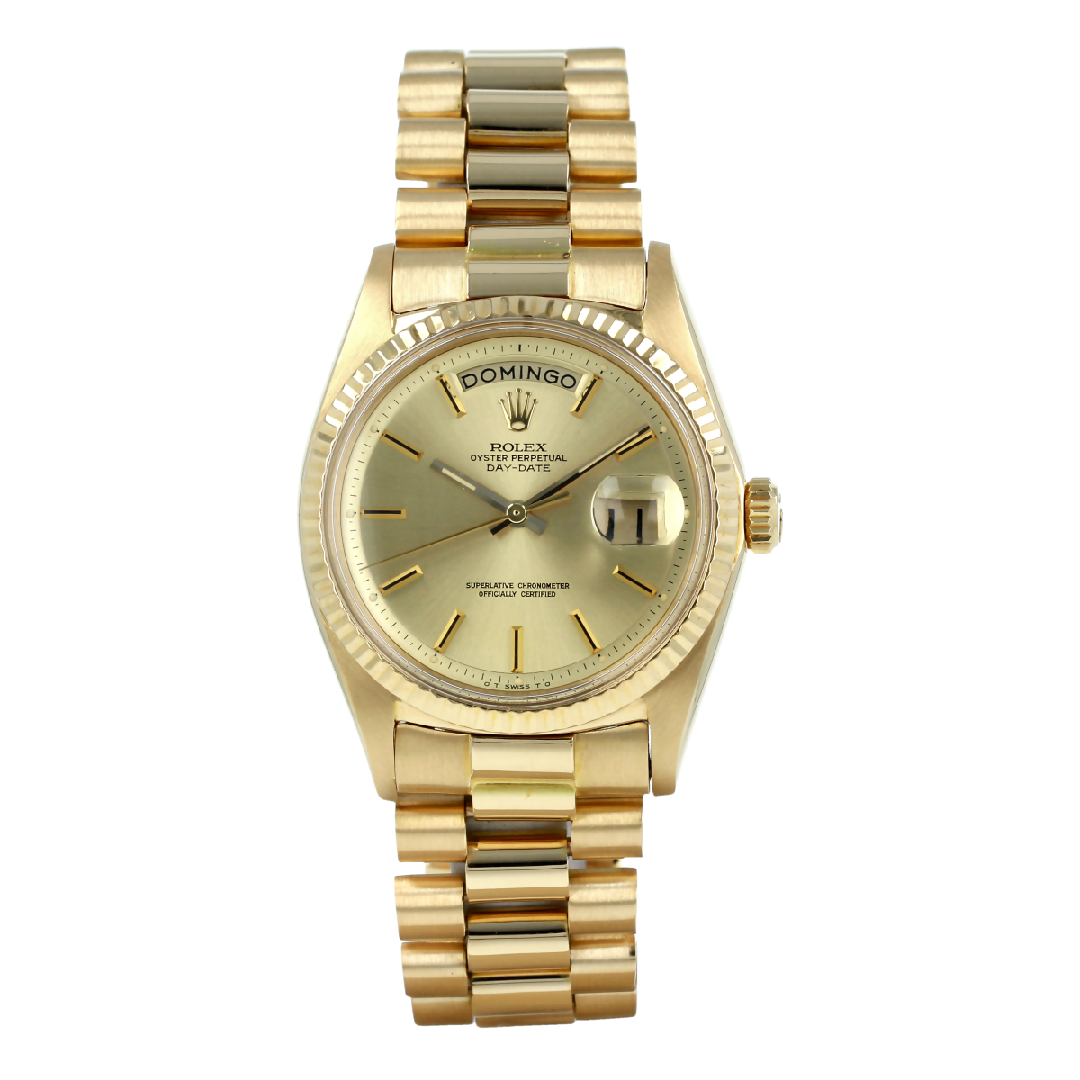 Rolex Day-Date 1803 Champagne Dial *calibre 1556*  (1969) | Buy pre-owned Rolex watch