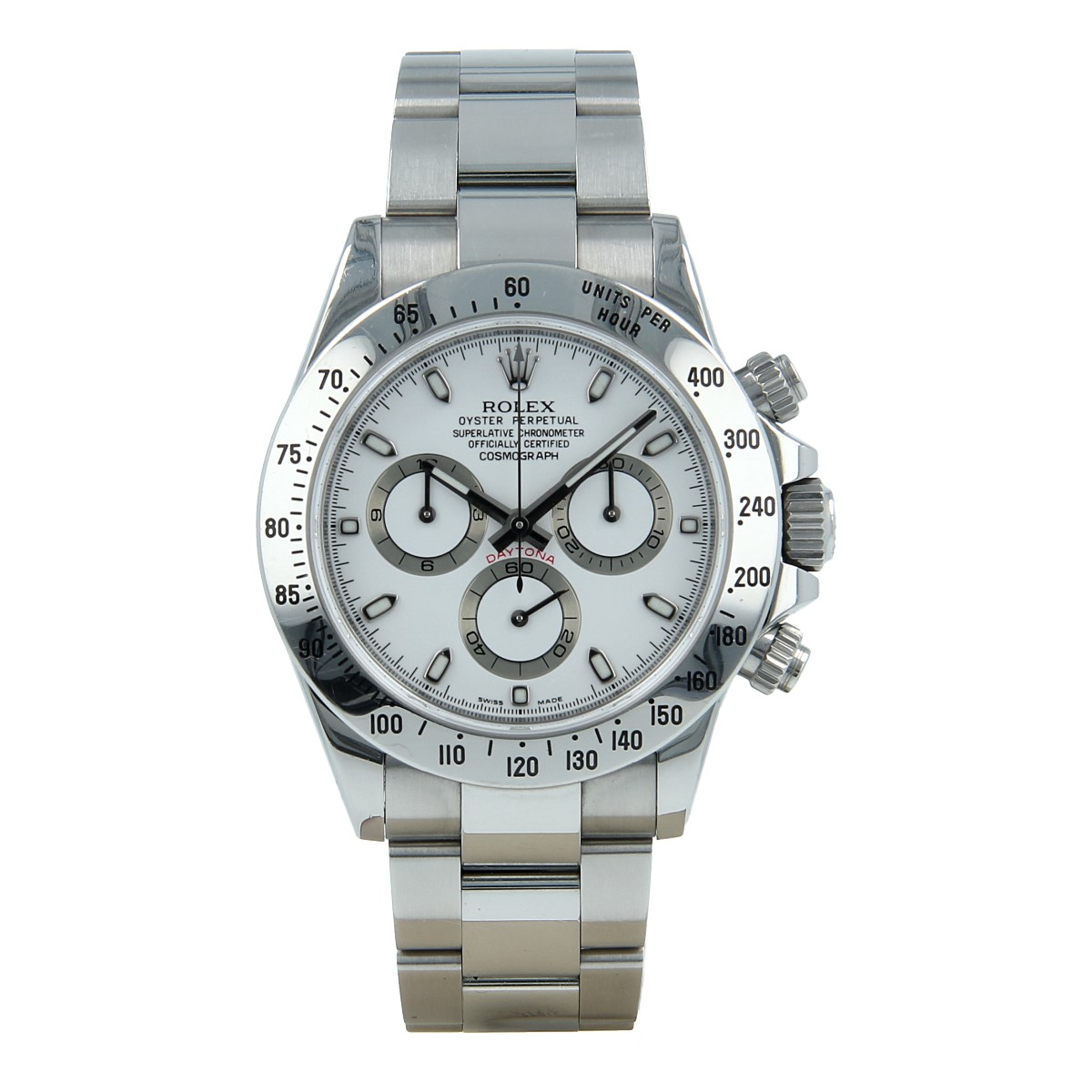 Rolex Daytona 116520 White Dial *Full Set* | Buy second-hand Rolex watch
