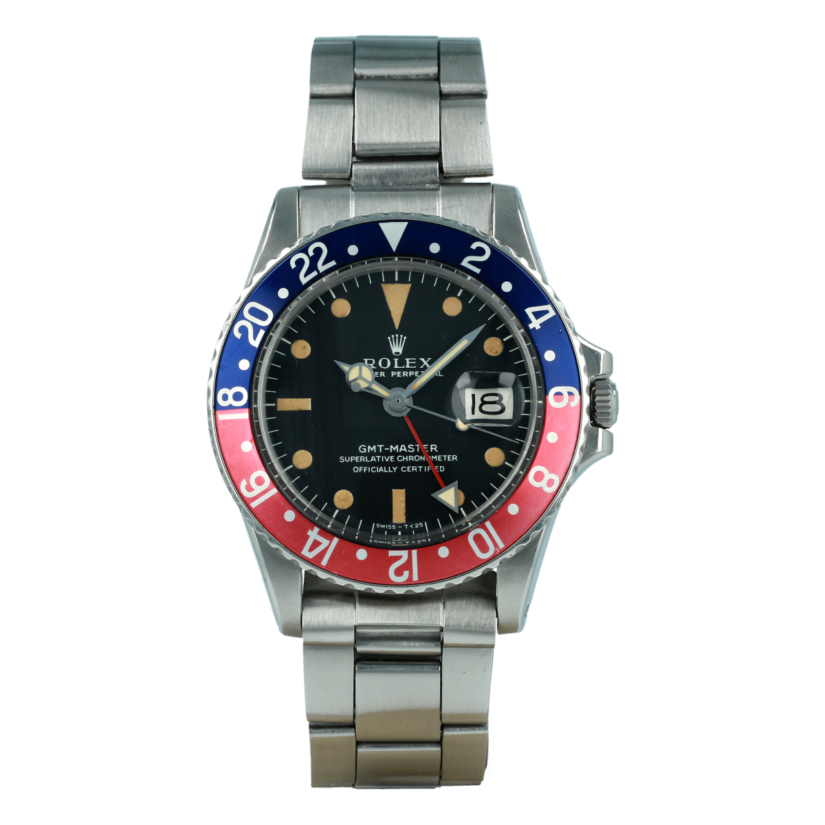 "Rolex GMT-Master 1675 ""Pepsi (1972) 