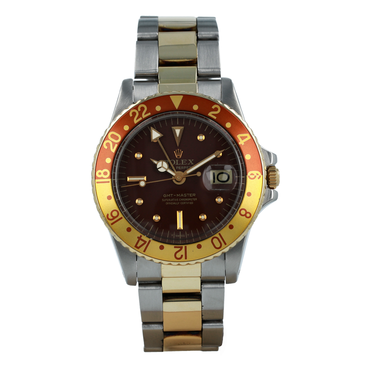"Rolex GMT-Master 1675 ""Tiger Eye"