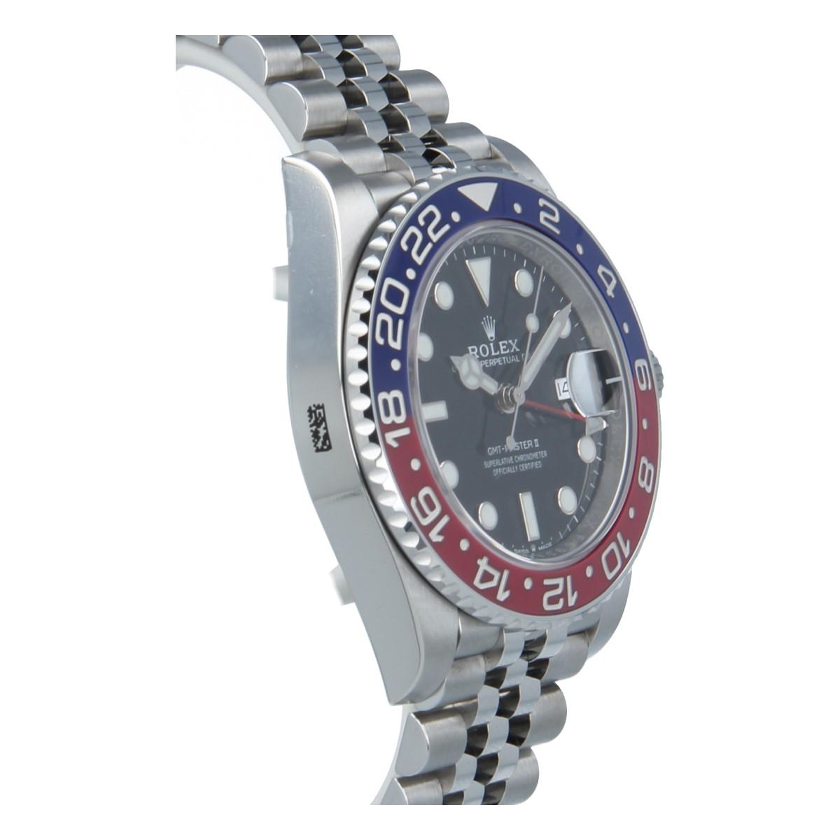 Second Hand Rolex Watches >> Rolex GMT-Master II 126710 BLRO PEPSI NEW | Buy second-hand Rolex watch