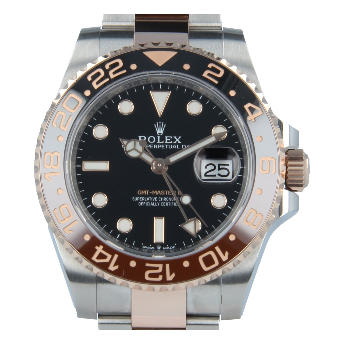 191a07d67aea Rolex GMT Master II 126711 CHNR Steel and Everose Gold
