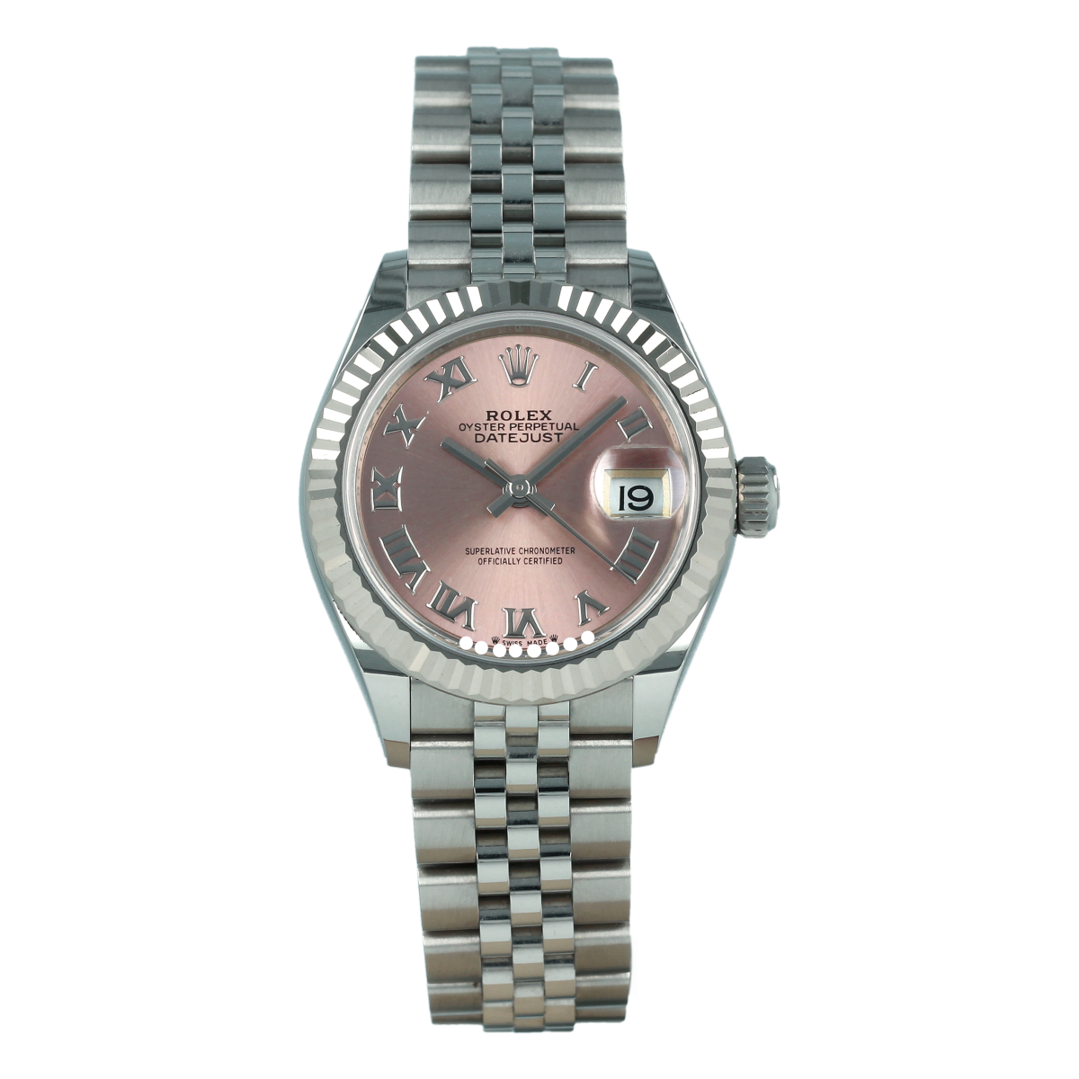 Rolex Lady-Datejust 279174 28mm Pink Dial *Like New* | Buy pre-owned Rolex watch