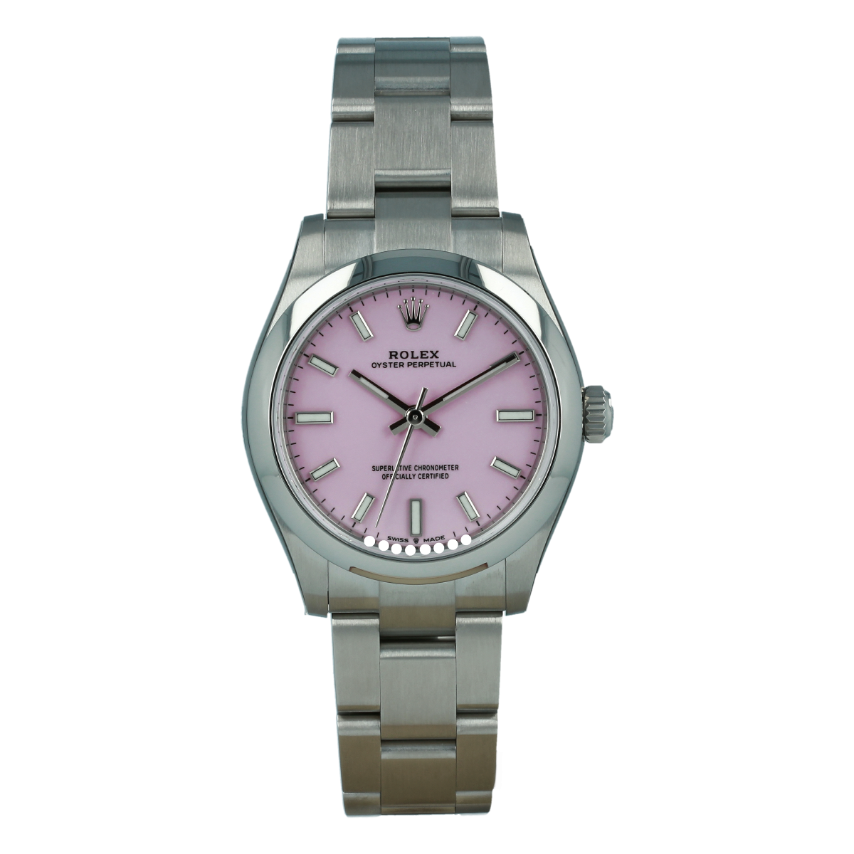 Rolex Oyster Perpetual 277200 31mm Candy Pink Dial *New Model* | Buy pre-owned Rolex watch