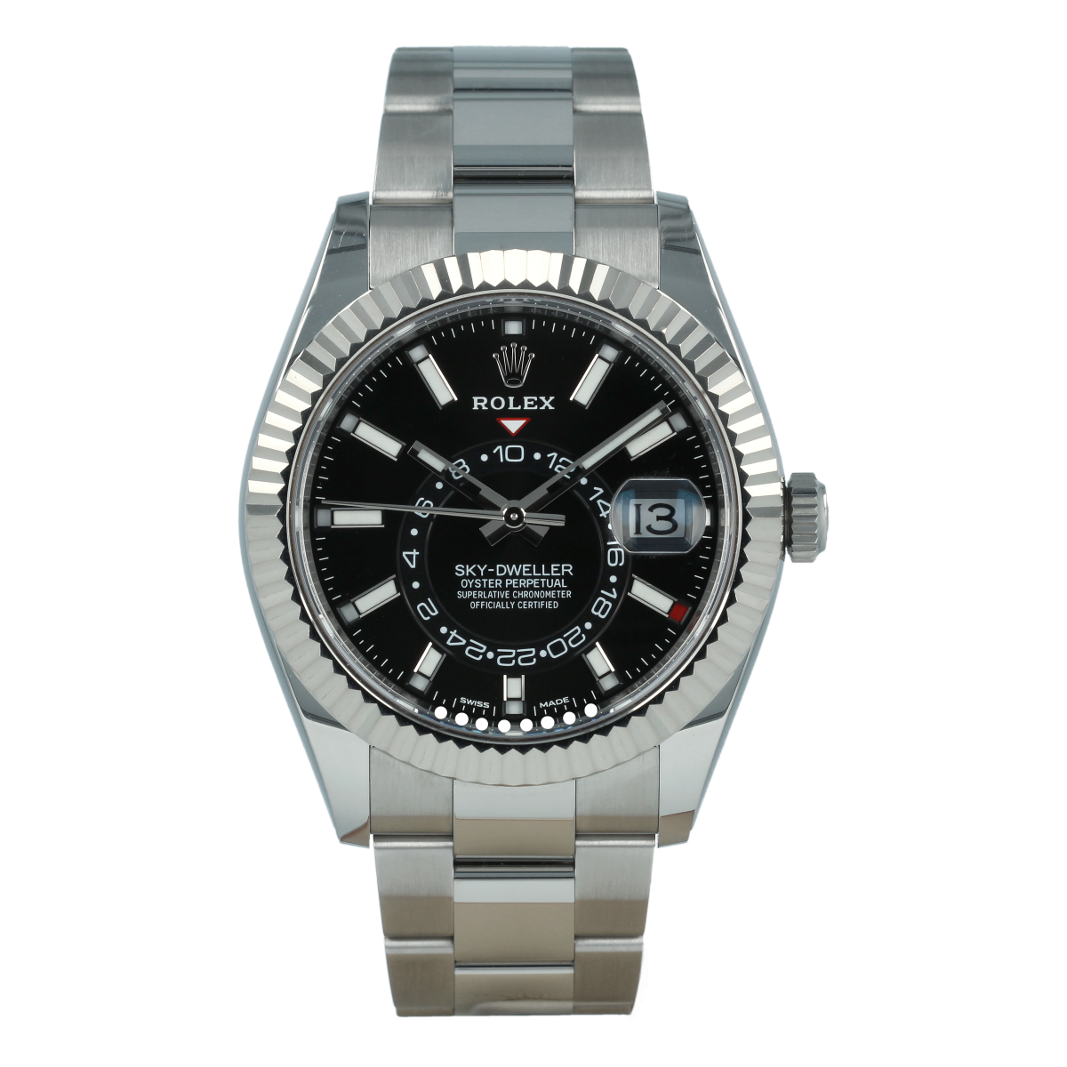 Rolex Sky-Dweller 326934 Black Dial | Buy pre-owned Rolex watch