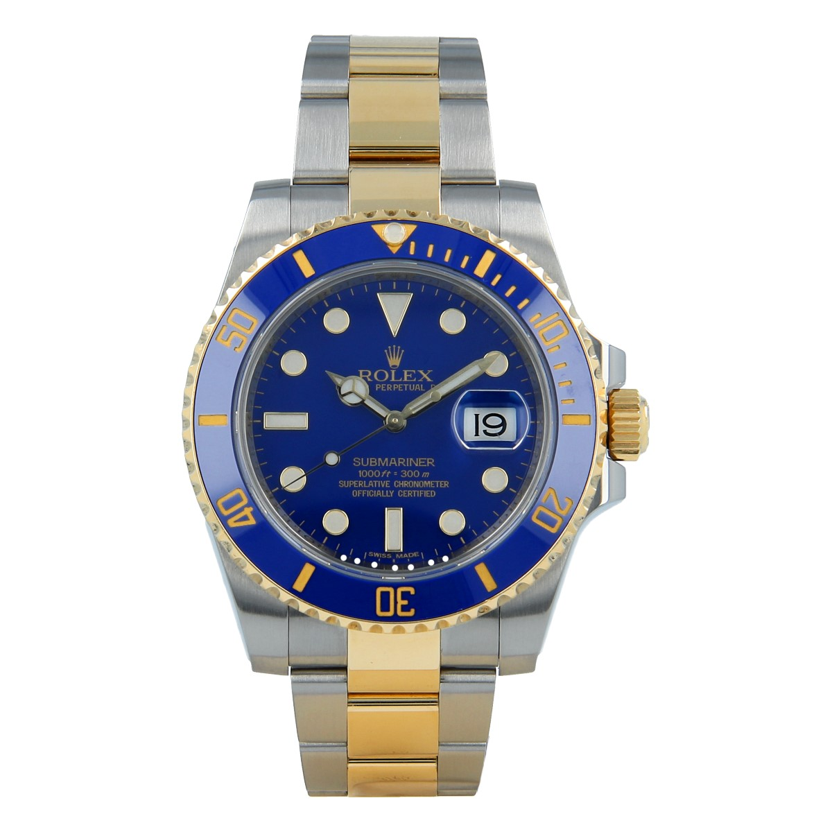 Rolex Submariner Date 116613LB Steel and Yellow Gold | Buy second-hand Rolex watch