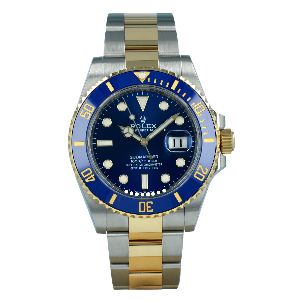 Rolex Submariner Date 126613LB Steel and Yellow Gold *New Model* | Buy pre-owned Rolex watch
