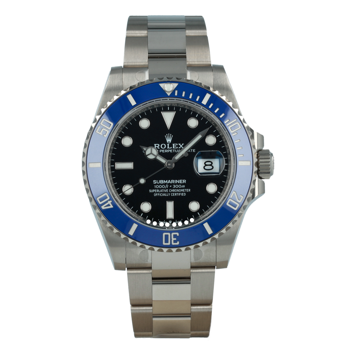 Rolex Submariner Date 126619LB White Gold *Brand-New* | Buy pre-owned Rolex watch