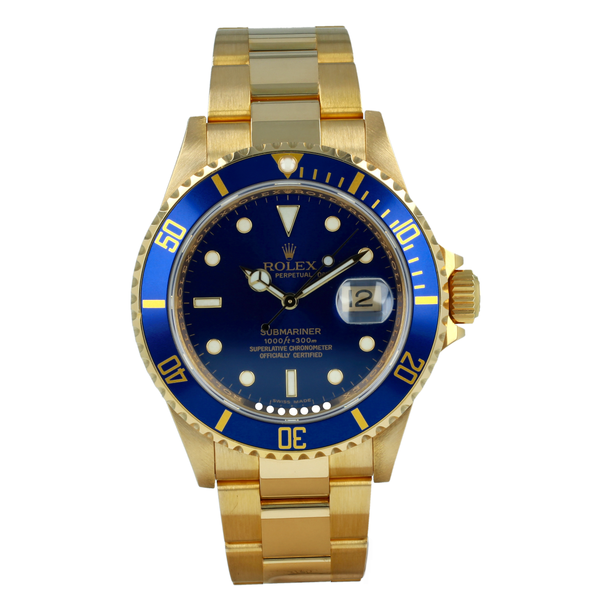 Rolex Submariner Date 16618LB | Buy pre-owned Rolex watch