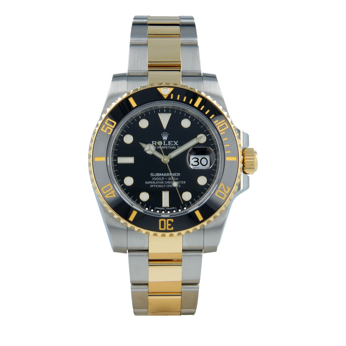 Rolex Submariner Mixto 116613LN Full Set | Buy second-hand Rolex watch