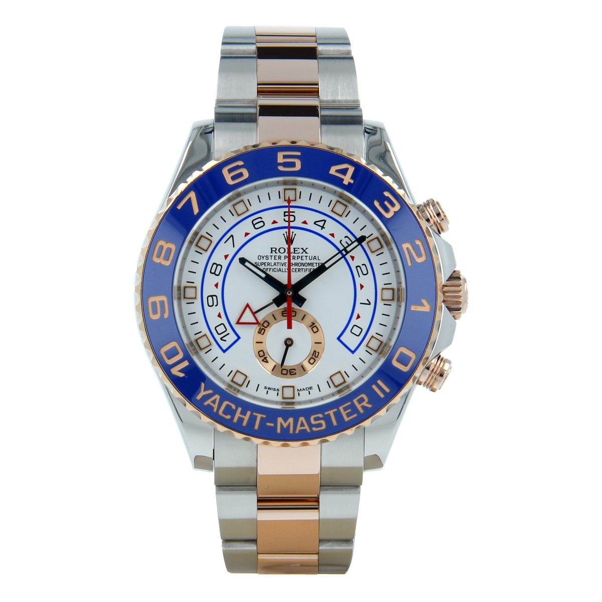Rolex Yacht-Master II 116681 Steel and Everose Gold | Buy second-hand Rolex watch