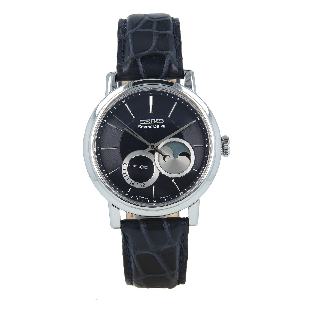 Seiko Spring Drive Moon Phase SNR011 Limited Ed. | Buy second hand Seiko watches