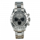 Rolex Cosmograph Daytona 116509 White Gold Steel Dial *Full Set* [ID14876]